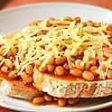 Cheese & Beans On 2 Toast