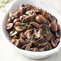 Portion Of Mushrooms