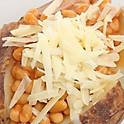 Butter, Chilli & Cheese Jacket Potatoes