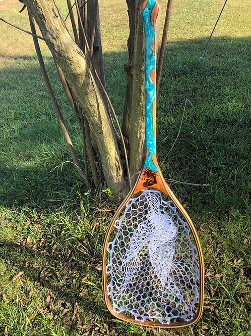 Turquoise LH River Net