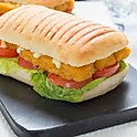 Fish Finger & Salad & Tartar Sauce Ciabatta