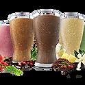 Various Glass Of Milkshakes