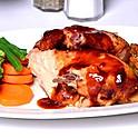 Half Of Roast Chicken