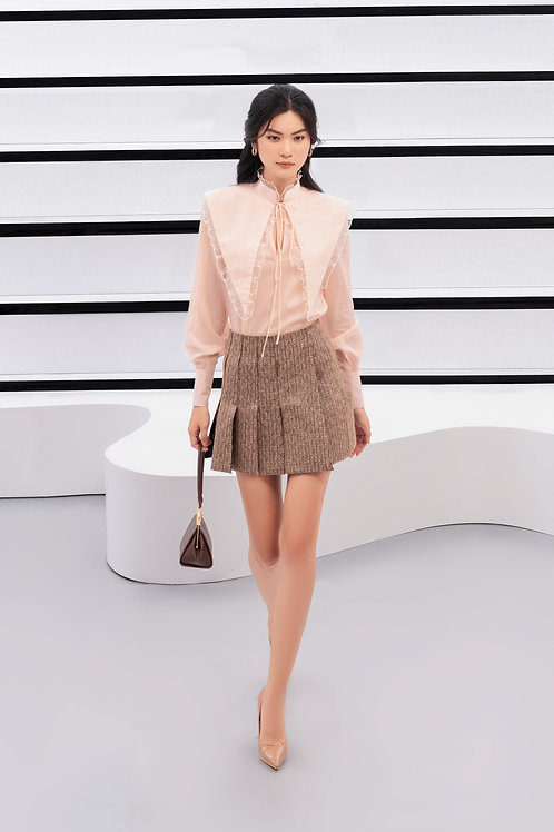 PF20: TOP(A14): 1.550.000 VND SKIRT(V16): 1.650.000 VND