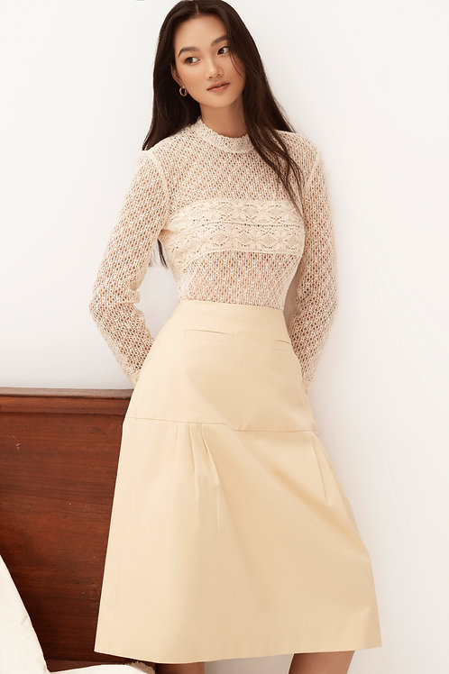 SS20: TOP(A12): 1.950.000 VND SKIRT(V5): 1.450.000 VND