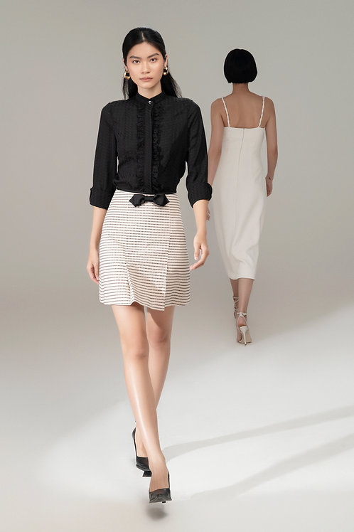 RS21: TOP(A15): 1.450.000 VND SKIRT(V11): 1.650.000 VND