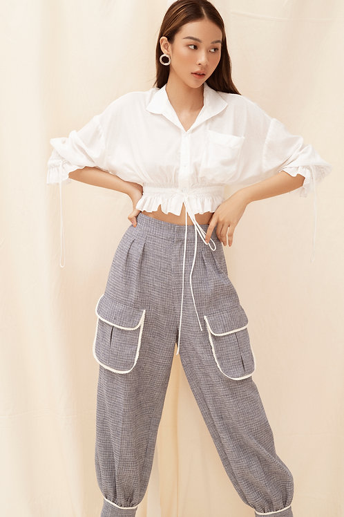 SS20: TOP(A27): 1.250.000 VND PANTS(Q8): 1.450.000 VND