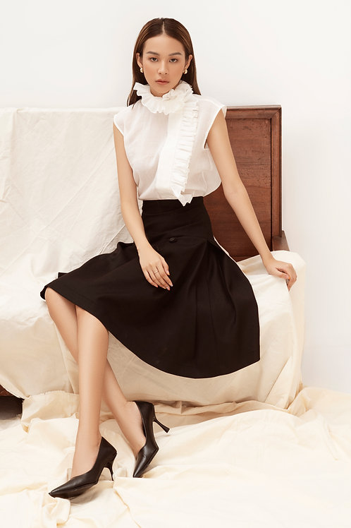 SS20: TOP(A13): 1.650.000 VND SKIRT(V6): 1.450.000 VND