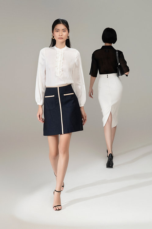 RS21: TOP(A07): 1.450.000 VND SKIRT(V05): 1.450.000 VND