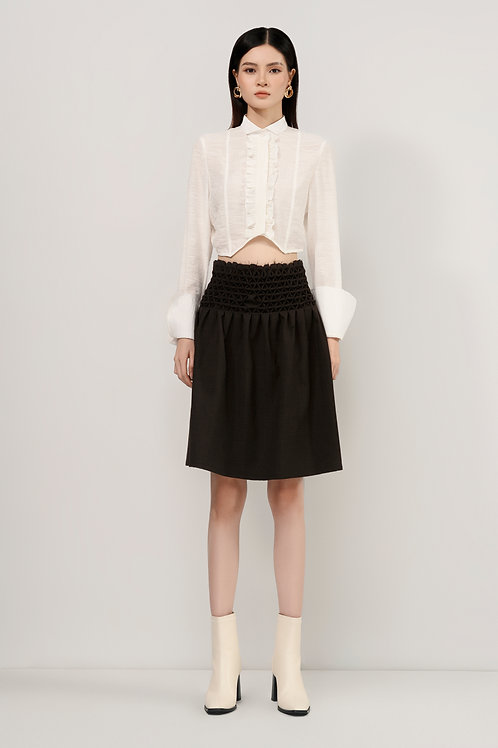 FW20: TOP(A18): 1.450.000 VND SKIRT(V10): 1.950.000 VND