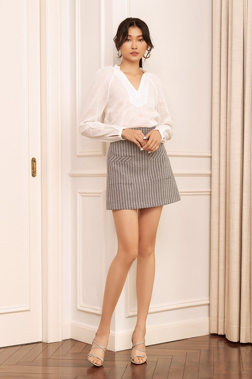 RS20: TOP(A10): 1.450.000 VND  SKIRT(V6): 1.250.000 VND