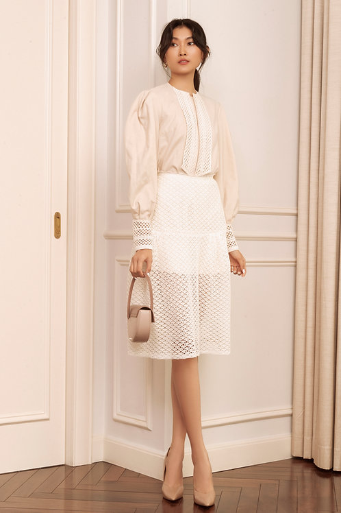 RS20: TOP(A12): 1.550.000 VND  SKIRT(V7): 1.450.000 VND