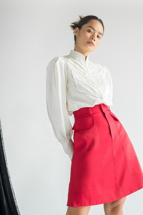 FW19: TOP(A1): 1.450.000 VND SKIRT(V1): 1.350.000 VND