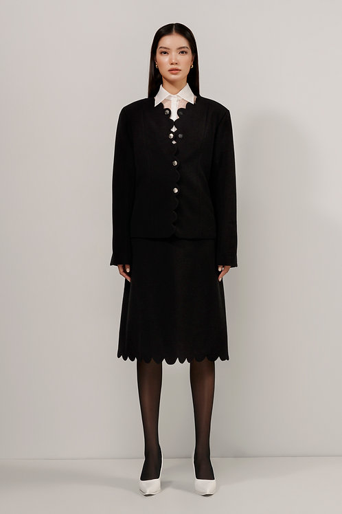 FW20: TOP(A11): 2.250.000 VND TOPin(A10):1.950.000 VND SKIRT(V05): 1.750.000 VND