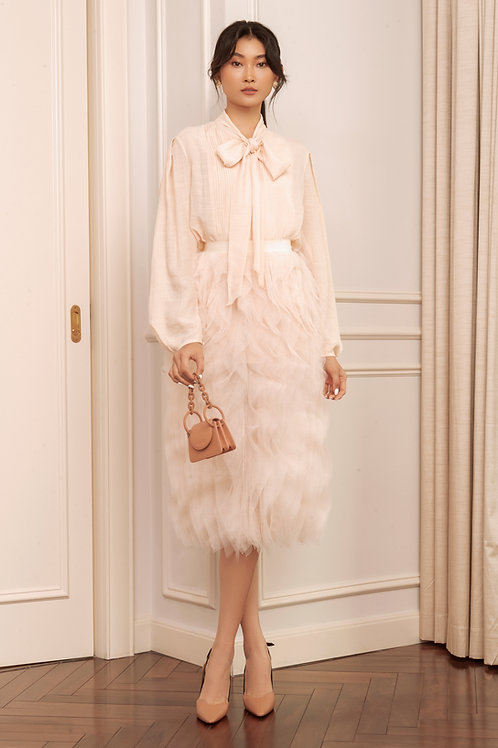 RS20: TOP(A2): 1.950.000 VND  SKIRT(V1): 2.250.000 VND
