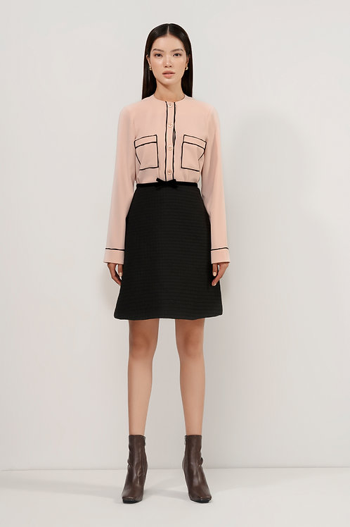FW20: TOP(A17): 1.950.000 VND SKIRT(V09): 1.450.000 VND