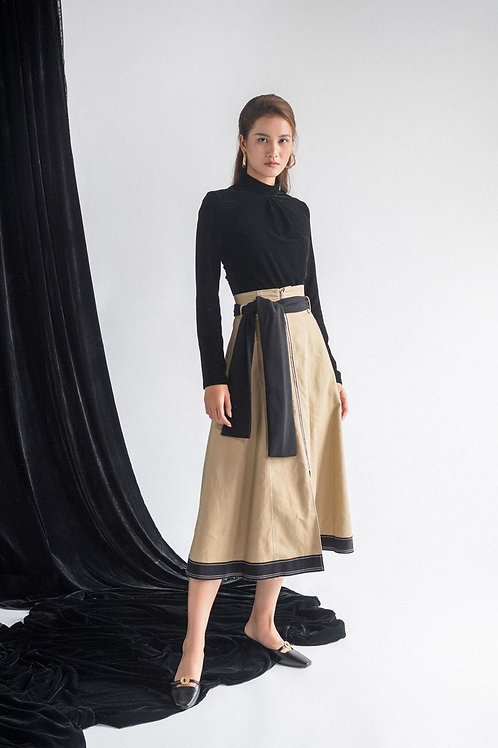 FW19: TOP(A10): 1.250.000 VND  SKIRT(V7): 1.350.000 VND