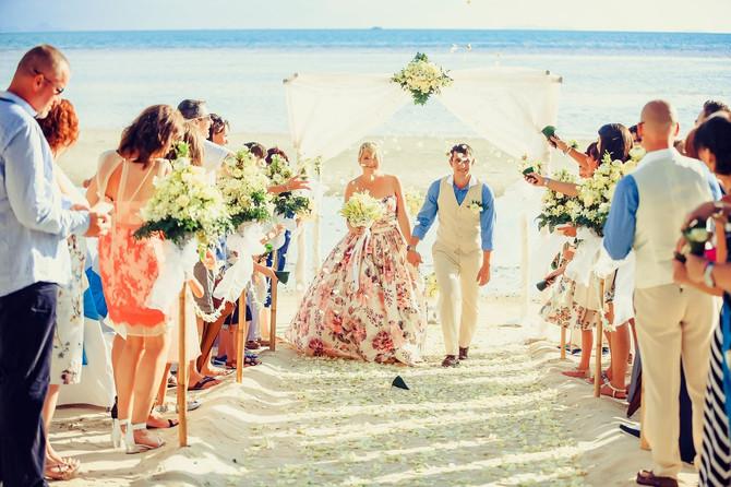 Lianne and Joe wedding at Movenpic hotel Koh Samui