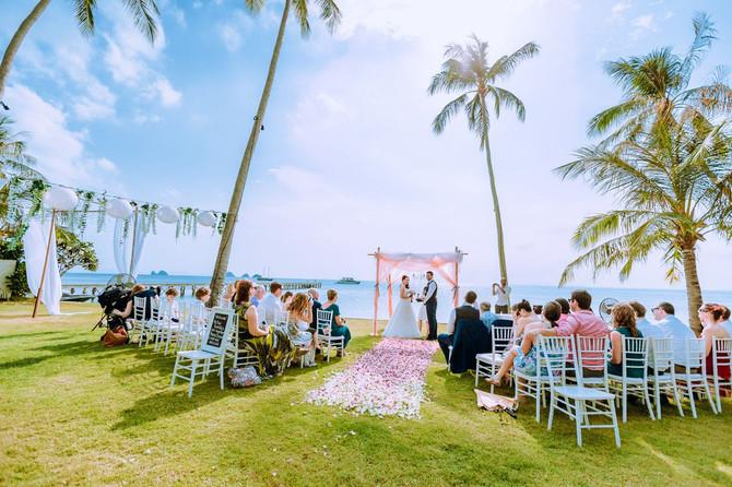 David & Susanne Louise's wedding Intercontinental Samui on Koh Samui