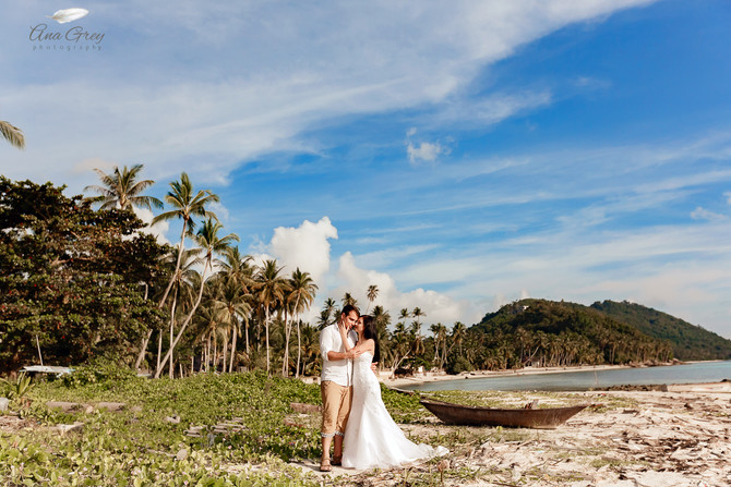 Koh Samui wedding photoshoot