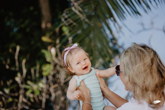 Hua Hin family photographer. Centara Grand resort and Spa family shoot on the beach
