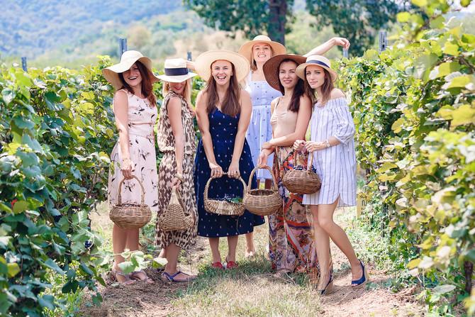 Hua Hin vineyard girls party