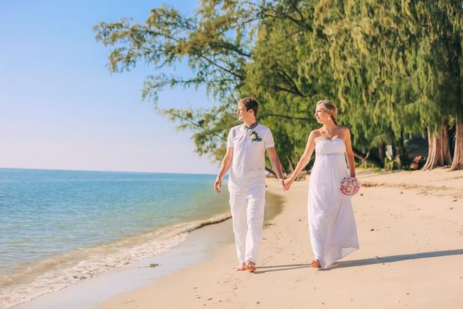 Max & Victoria – Koh Samui, Thailand beach wedding