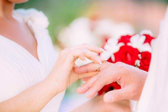 The destination wedding Thailand