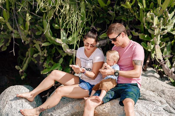 Hua Hin family photoshoot