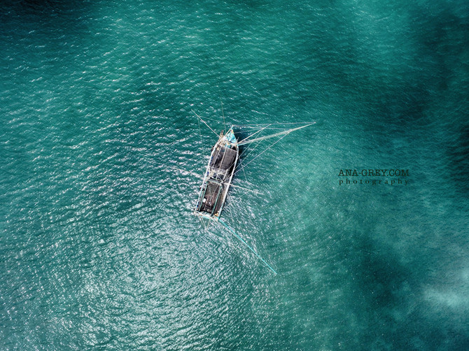 Amazing aerial photography Koh Samui
