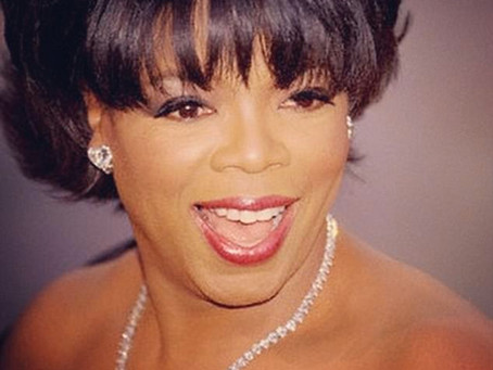 OPRAH sports a stunning diamond necklace from SAMER HALIMEH NY
