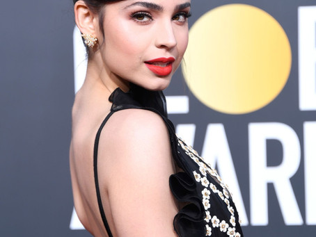 Sofia Carson shines at Golden Globes 2019 in Samer Halimeh NY Jewelry