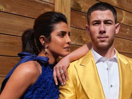 Priyanka Chopra rocking 48cts+ of Fancy Yellow Diamonds during Oscar 2021 nominations