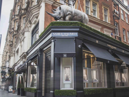 London's Knightsbridge hosts US diamond dealer