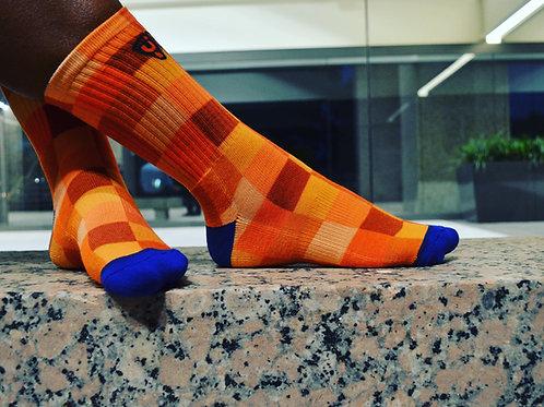 Brown/Orange Squares