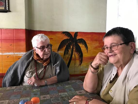 Claude et Francine à Antsirabé 2016