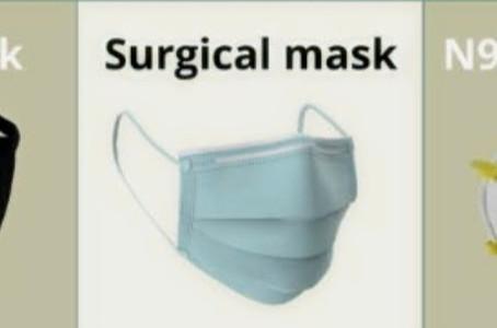Apakah boleh pakai sembarang masker?