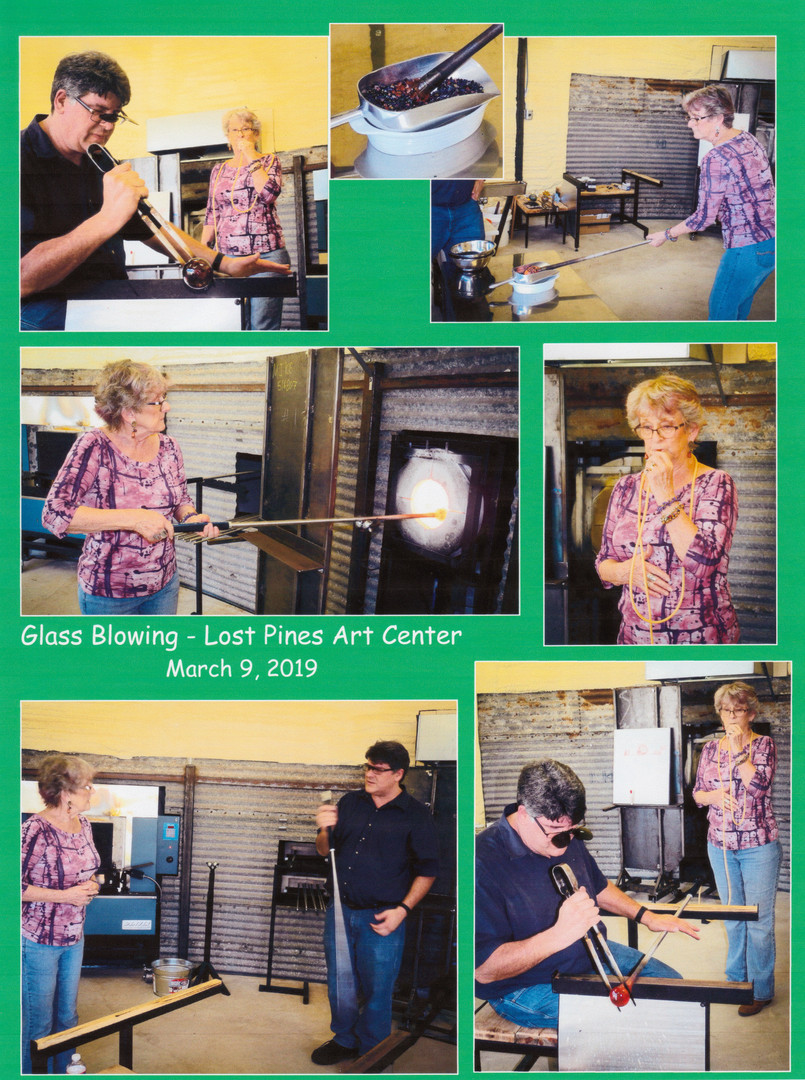 Glass Blowing - Lost Pines Art Center