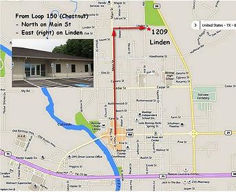 Bastrop Community Senior Center Map