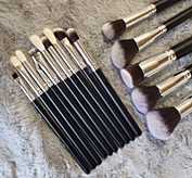 Makeup brushes 15 pieces
