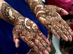 One day advance bridal henne/ mehendi course