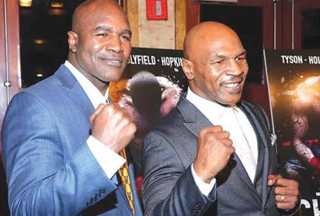 Reedição de luta entre Mike Tyson e Evander Holyfield pode bater recordes