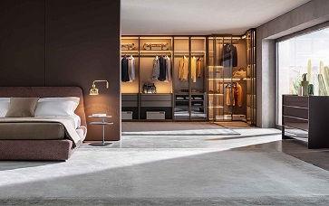 walk-in-wardrobe interior designers in D