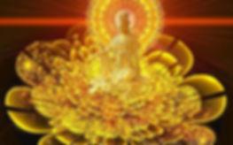 bouddha lotus d'or, reiki usui deuxième degré