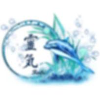 dessin reiki dauphin