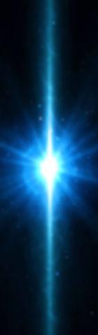 lumière verticale blanche bleue, univers lahochi