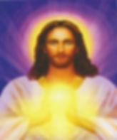 dessin lumière dorée entre les mains de maître jésus-sananda