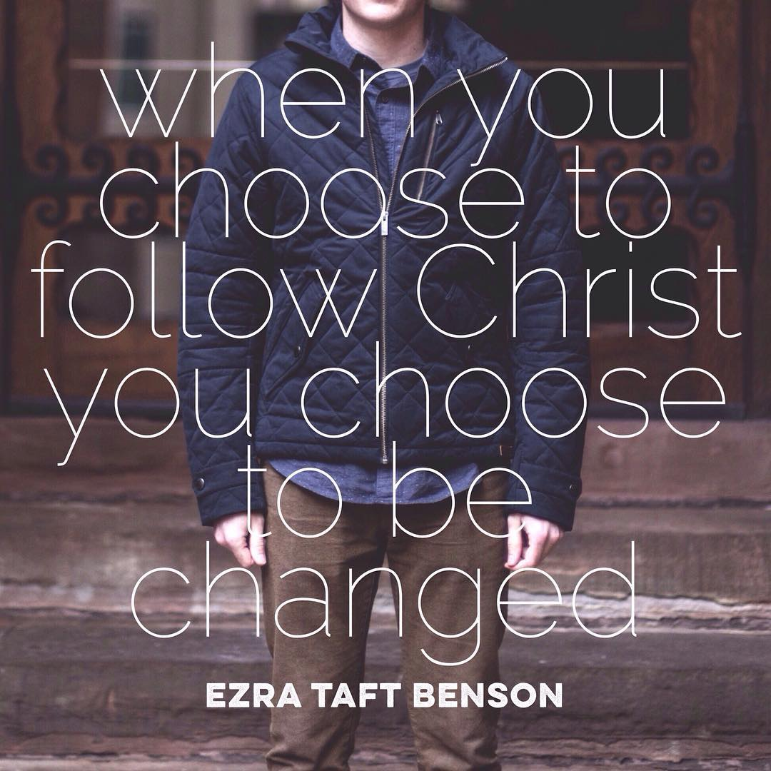 choose to follow Christ