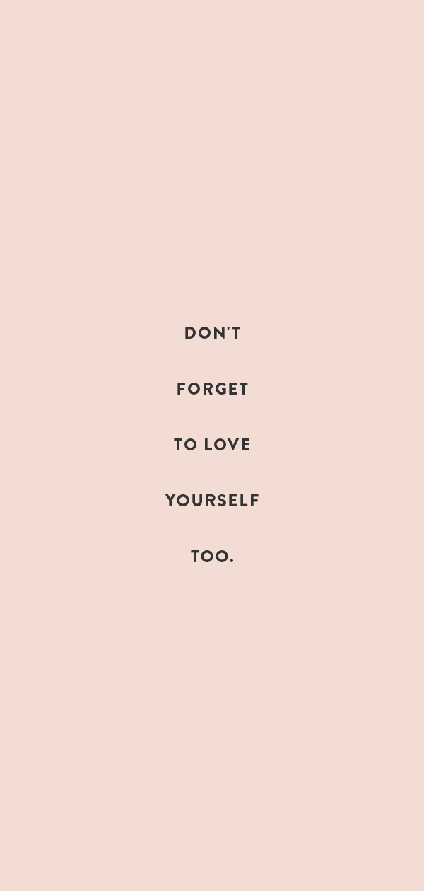 love yourself too