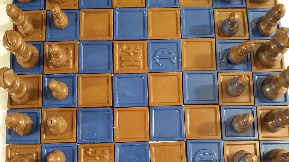 Chocolate Board Game: Chess! Handmade,Modular Board